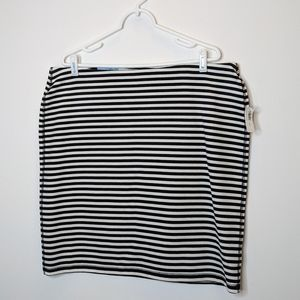 NWT Old Navy Striped Jupe Skirt